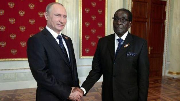 Путин назвал Зимбабве важным для России партнёром в Африке