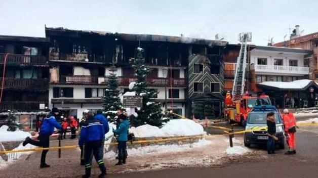 МИД о пожаре в Куршевеле: украинцы не пострадали