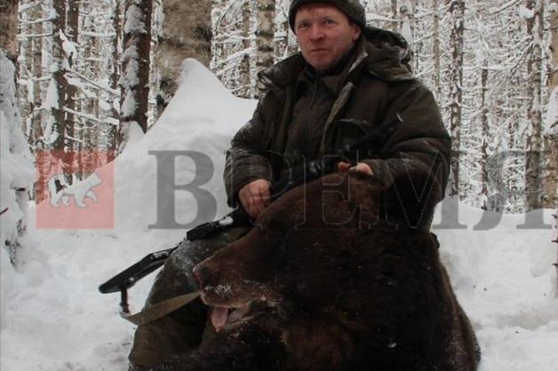 «Заболел». Расстрелявший спящего медведя чиновник из Перми экстренно госпитализирован