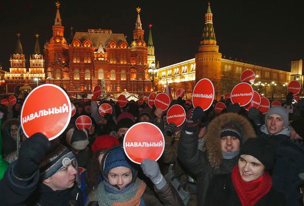 Кремль решил начать кампанию против Навального