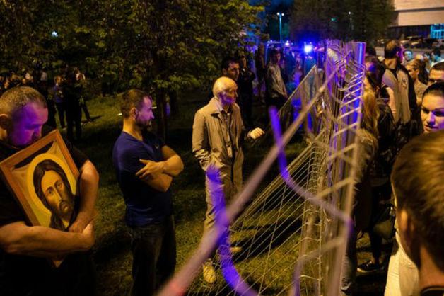 В Екатеринбурге ожидают протестов школьников против строительства храма Святой Екатерины