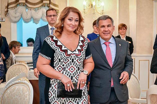 Супруга главы Татарстана заработала 2,35 миллиарда, продав офшору часть спа-комплекса