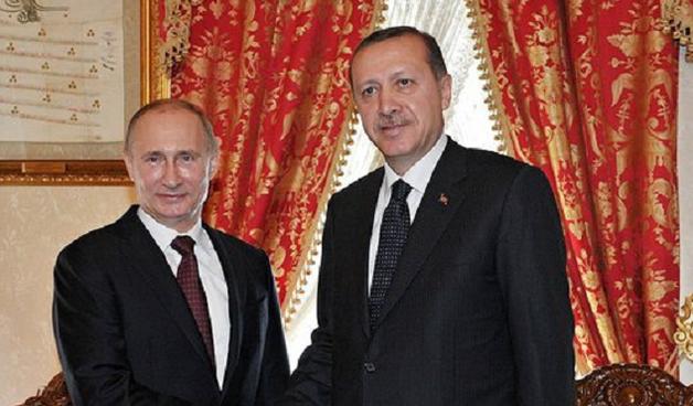 Путин на переговорах с Эрдоганом пошутил над его делегацией