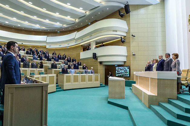 В сентябре Совет Федерации покинут девять сенаторов