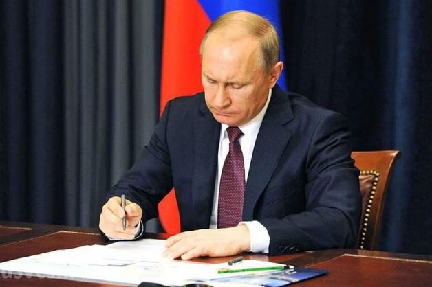 Путин присвоил генеральские звания 18 офицерам МВД
