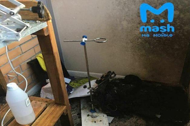 В Ленинградской области ученик-химик учинил взрыв в жилом доме
