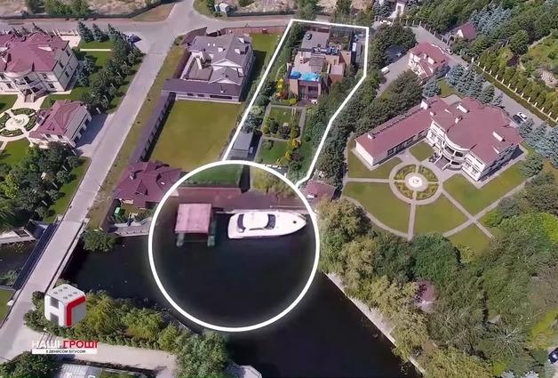 Появилось фото имения главы Администрации президента, сделанное с высоты птичьего полета