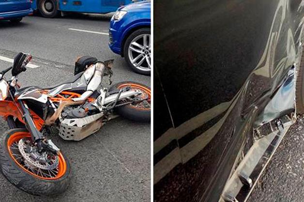 Депутат Госдумы на Lexus сбил в Москве мотоциклиста и скрылся