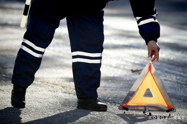 В Калуге полицейский на мотоцикле сбил насмерть пешехода
