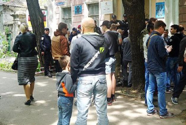В Николаеве националисты и участники АТО подрались с «афганцами»