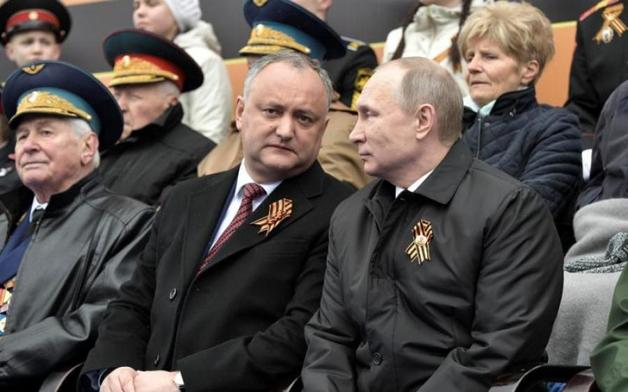 Додон получил право напоить россиян