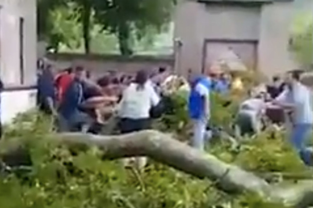 Два россиянина получили травмы во время ЧП в Азербайджане