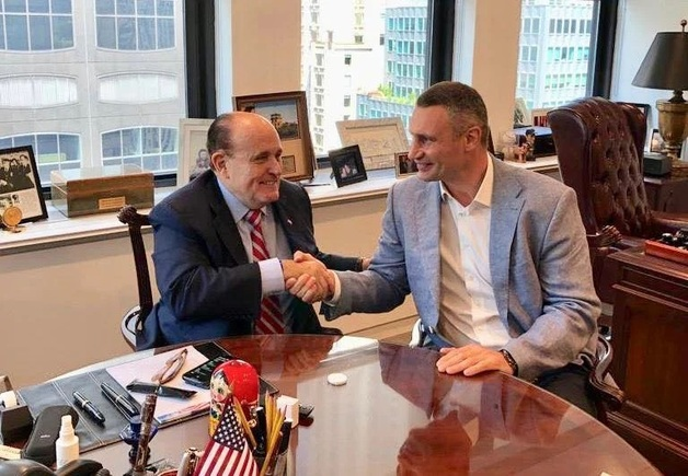 После «наезда» Богдана Кличко встретился с адвокатом Трампа