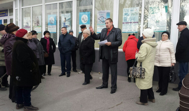 Организатора антимобилизационного митинга в Геническе осудили на 5 лет