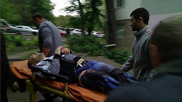 Появилось видео начала стрельбы в Каменском с участием «охраны Яроша»