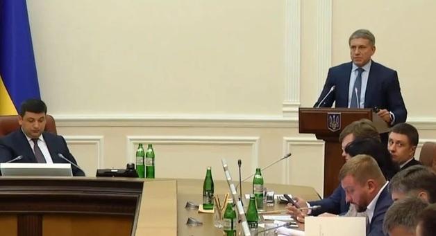 В Кабмине хотят разрешить компании Ахметова покупать государственный газ вдвое дешевле
