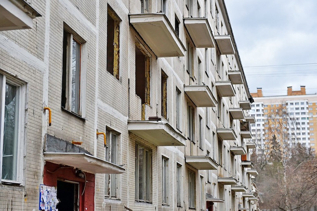 Москвичи назвали отмывание денег главной целью сноса пятиэтажек