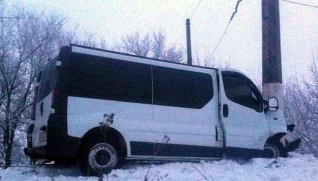 В Донецкой области в результате ДТП пострадало семь людей