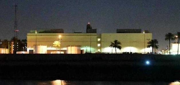 По посольству США в Ираке ударили российскими ракетами: подробности и фото