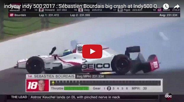 Французский гонщик разбился на скорости 370 км/час