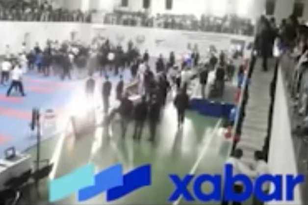 Турнир по карате завершился массовой дракой тренеров и судей