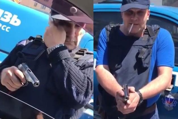 Росгвардия: Угрожавшие застрелить водителя сотрудники «Спецсвязи» не имели права носить оружие