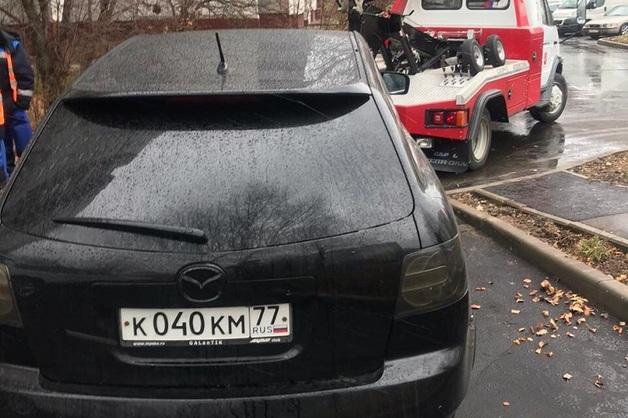 Полиция нашла «Мазду», связаннyю с убийством главы ЦПЭ Ингушетии