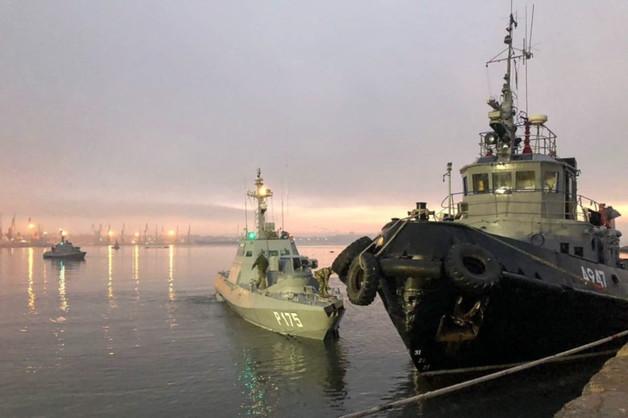 В России назвали условие для возвращения задержанных в Керченском проливе кораблей