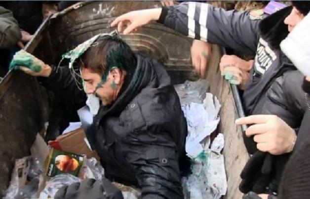 Владимир Скоробагач - харьковский мясник, возродившийся из мусорного бака