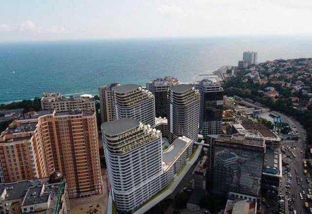 Строительные аферисты «Мегалайн» начали строить самый скандальный небоскрёб в Одессе