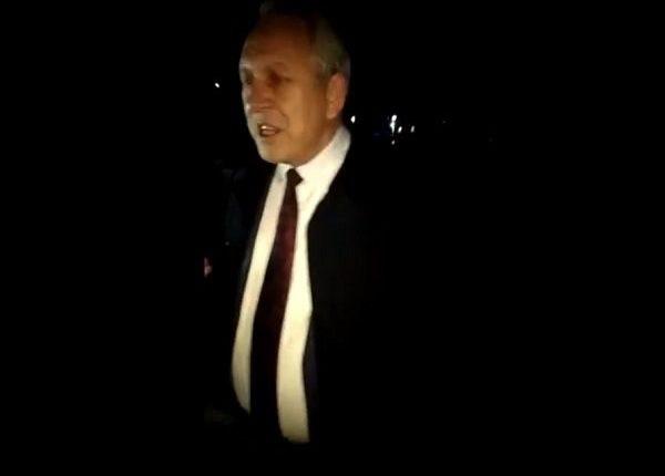 Пьяный глава российского города попал в аварию и попытался сбежать