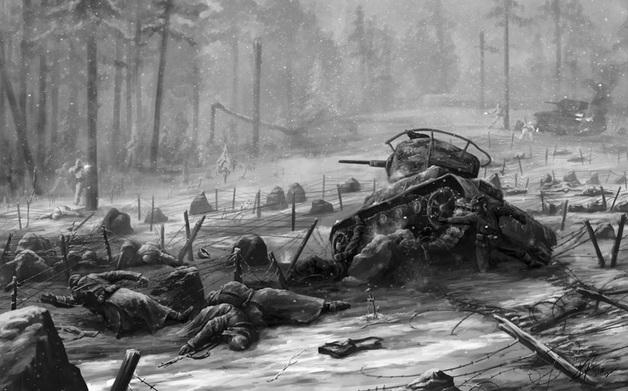 80 лет назад коварная Финляндия вероломно напала на миролюбивый СССР