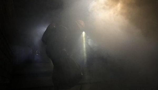 В Петербурге загорелся ангар с химическими удобрениями