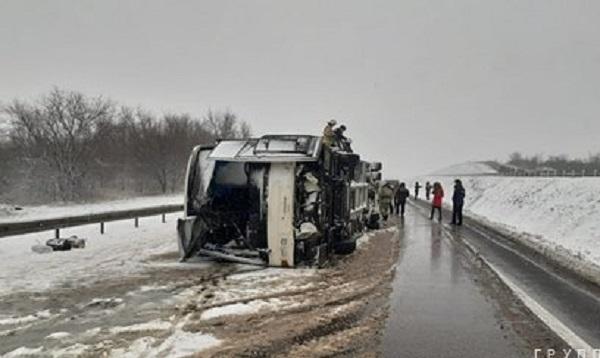 Выросло число пострадавших в ДТП с автобусом под Воронежем