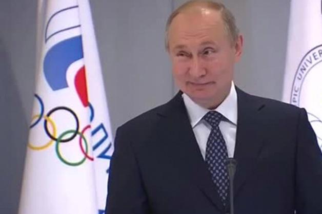 Путин начал выступление с выключенным микрофоном