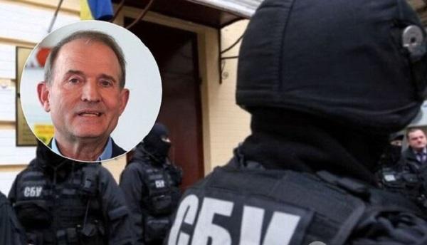 Задержан личный охранник Медведчука: всплыли новые детали обысков СБУ