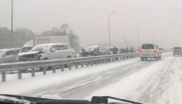 В России выросло число пострадавших в ДТП с полусотней автомобилей
