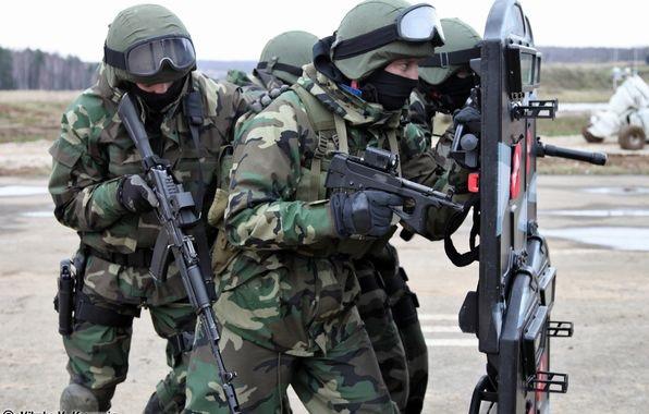 У спецназа обновление оружия. Только тихо