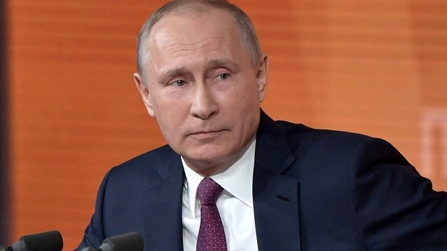 Владимир Путин отвечает на вопросы СМИ
