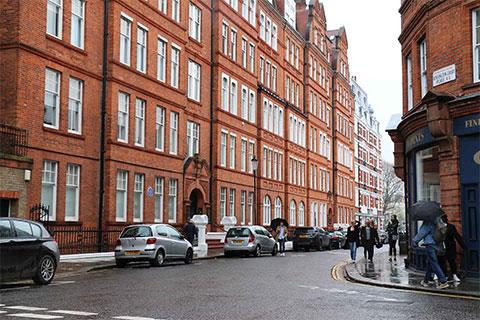 Квартиры Одесской мафии в Лондоне